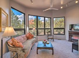 Sedona Apartment with Private Patio and Red Rock Views, apartment in Sedona