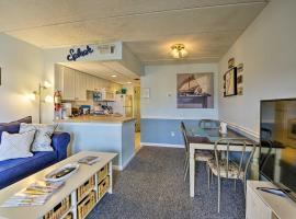 Coastal Condo with Pool 1 Block to Wildwood Beach!, vacation rental in Wildwood