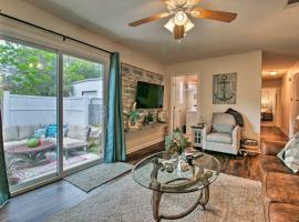 Pensacola Home with Furnished Patio - 1mi to Bay, vacation rental in Pensacola