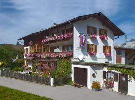 Gaestehaus Richter, ski resort in Oberammergau