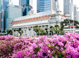 The Fullerton Hotel Singapore (SG Clean, Staycation Approved), spa hotel in Singapore