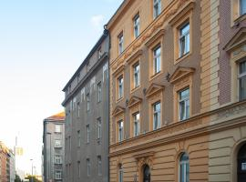 ZEITRAUM Holandská – apartament z obsługą w Pradze