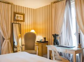 Domaine Saint Clair - Le Donjon, hotel v mestu Étretat