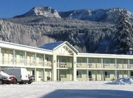 Ponderosa Motor Inn, motel in Golden