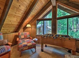 Cabin with BBQ Deck, Near Big Trees State Park!, hotel in Arnold