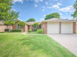 Lubbock Home with Deck and Yard - 8 Miles to TTU!, vacation rental in Lubbock