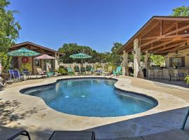 Peaceful Kerrville House with Private Pool and Hot Tub!, hotel in Kerrville