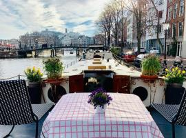 Romantic Houseboat, B&B sa Amsterdam