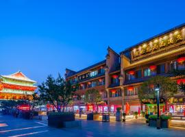 Ibis Styles Hotel Xi'an Bell and Drum Tower Huimin Street, hotell i Xi'an