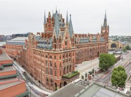 St. Pancras Renaissance Hotel London, hotel in Kings Cross St Pancras, London