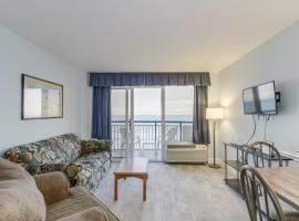 Hosteeva Oceanfront Boardwalk Beach Resort with Balcony, vacation rental in Myrtle Beach