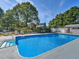 Mashpee House with Pool, Fire Pit and Furnished Patio!, hotel in Mashpee
