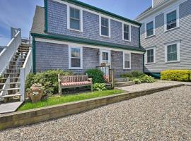 Provincetown Apartment, Steps to Commercial Street, apartment in Provincetown
