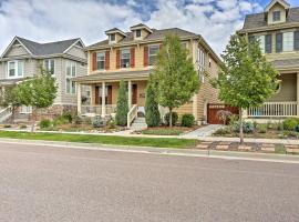 Newly Built Denver Apartment by Park in Stapleton!, apartment in Denver