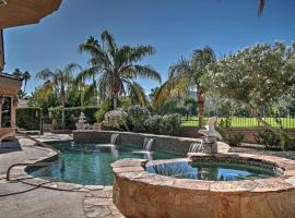 Desert Oasis on Golf Course with Private Pool and Spa!, vacation rental in Palm Springs