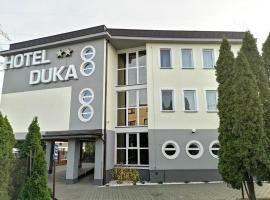 Hotel Duka, отель в Варшаве