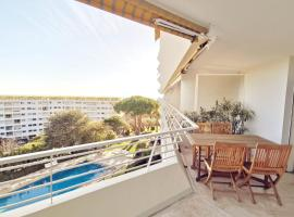 4 bedroom apartment - pool -parking - tennis, hotel with pools in Cannes
