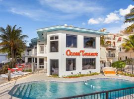 Ocean Treasure Beachside Suites, hotel near Johns Siding Railroad Station, Fort Lauderdale