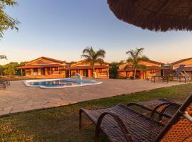 Rancho da Cachaça Pousada, family hotel in Holambra
