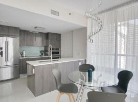 NEW!!! W Brickell Miami- ICON DELUXE LOUNGE with 2 masters, apartment in Miami