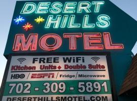 Desert Hills Motel, motel in Las Vegas