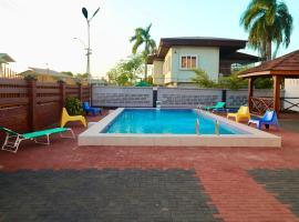 Riando appartement Royal Rainville, hotel in Paramaribo