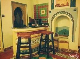 Casa Tajeddine, apartamento en Chefchaouen