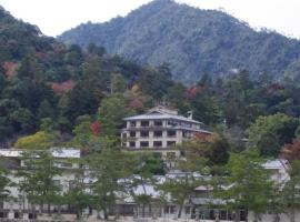 Jukeiso, hotel near Itsukushima Shrine, Miyajima