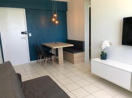 Apartamento 02 quartos completo, BEIRA-MAR com piscina, apartment in Maceió
