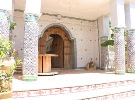 Villa-Riad El menzeh, riad in Meknès