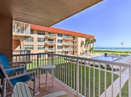 Oceanfront Condo with Balcony and Community Pool!, vacation rental in Cocoa Beach