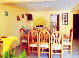 Bonito Departamento Fam cómodo y muy amplio planta baja, apartamento en Zacatlán