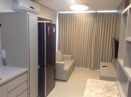 Flat mobiliado de luxo perto do Goiania Shopping, self catering accommodation in Goiânia
