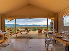 AfriCamps at White Elephant Safaris, luxury tent in Pongola Game Reserve