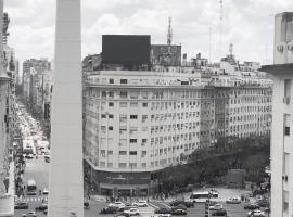 Vistas al Obelisco, corazón de Buenos Aires, apartamento em Buenos Aires
