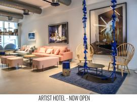 Artist Hotel - an Atlas Boutique Hotel, hotel near Birzeit University, Tel Aviv