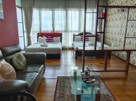 Regalia Homestay with Infinity Pool, homestay in Kuala Lumpur