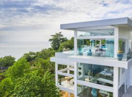 Villa Sasipimon - Panoramic Duplex Studio, отель в Чавенг-Ной-Бич