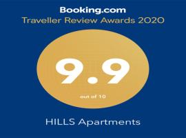 HILLS Apartments, hotel u gradu Vršac