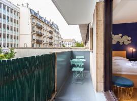 Paris Champs-Elysées/Porte Maillot 4P, hotel in Neuilly-sur-Seine