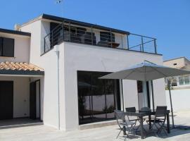Villa contemporaine - 20 min des plages à pied - Quart Goelands, holiday home in La Grande-Motte