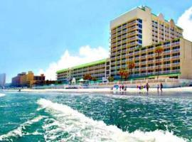 Dayton Beach Resort Direct Ocean 5th Floor, apartment in Daytona Beach