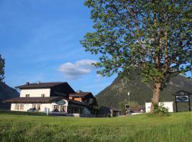 Pension Zeegershof, family hotel in Heiterwang