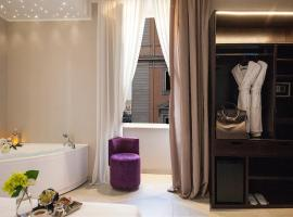 Roman Holidays Boutique, hotel with jacuzzis in Rome