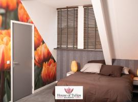 House of Tulips, hotel near Hillegom Station, Hillegom