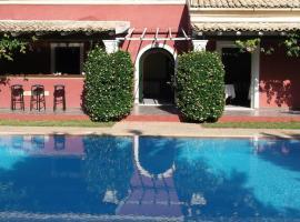Villa De Loulia – hotel w mieście Peroulades