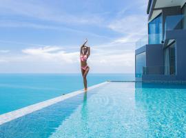 POOL VILLA ELLA I Sea Views - Pool - Privacy & Service, hotel i Chaweng Noi Beach