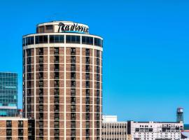 Radisson Hotel Duluth-Harborview, romantic hotel in Duluth