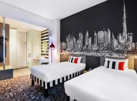 ibis Styles Dubai Airport Hotel, hotel cerca de Aeropuerto internacional de Dubái - DXB,