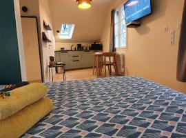 Appartement Studio Prieuré, hôtel à Quimper près de: Tribunal de Grande Instance de Quimper